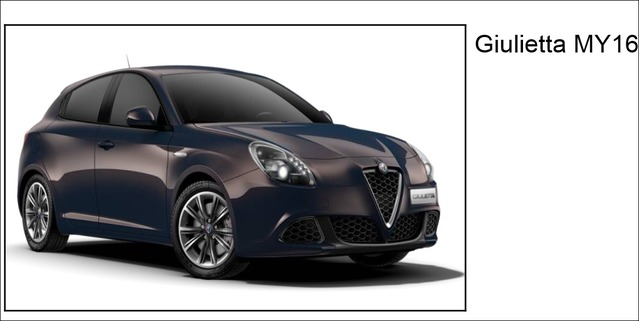 Surprise : voilà l'Alfa Romeo Giulietta restylée