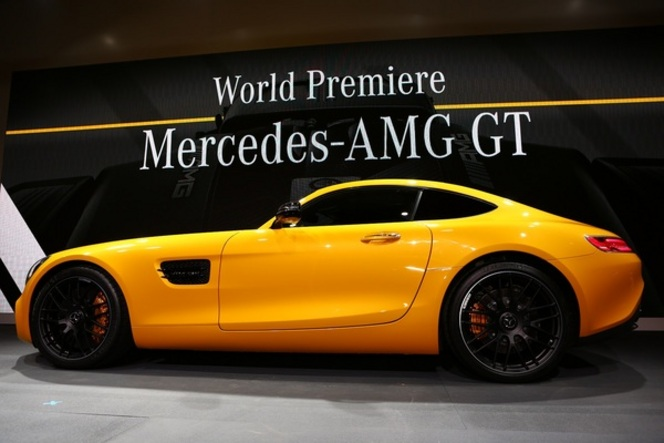 Guide des stands Mondial 2014 - Mercedes : AMG GT, enfin !