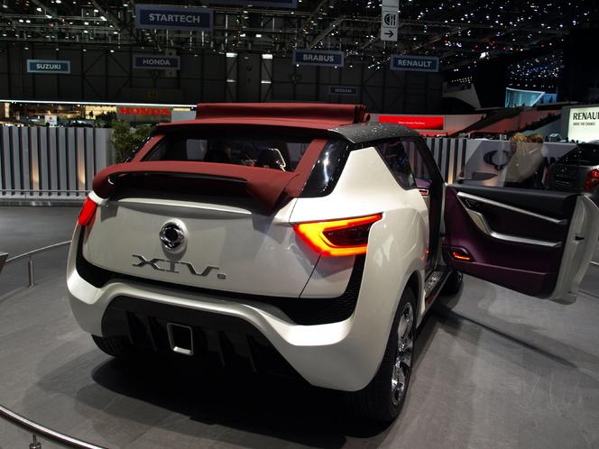 Salon de Genève 2012 : Ssangyong XIV-2 concept