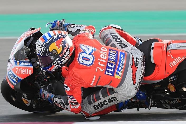 MotoGP – Qatar J.1: Dovizioso et Ducati sont au rendez-vous