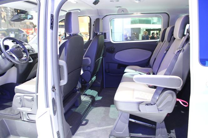 Salon de Genève 2012 - Ford Tourneo Custom Concept : pas vilain