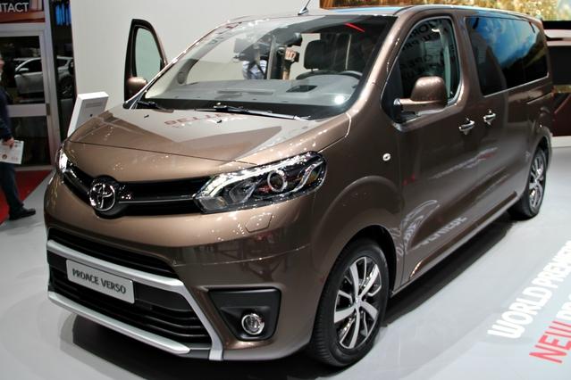 Toyota ProAce Verso : l'utilitaire civilisé - En direct du Salon de Genève 2016