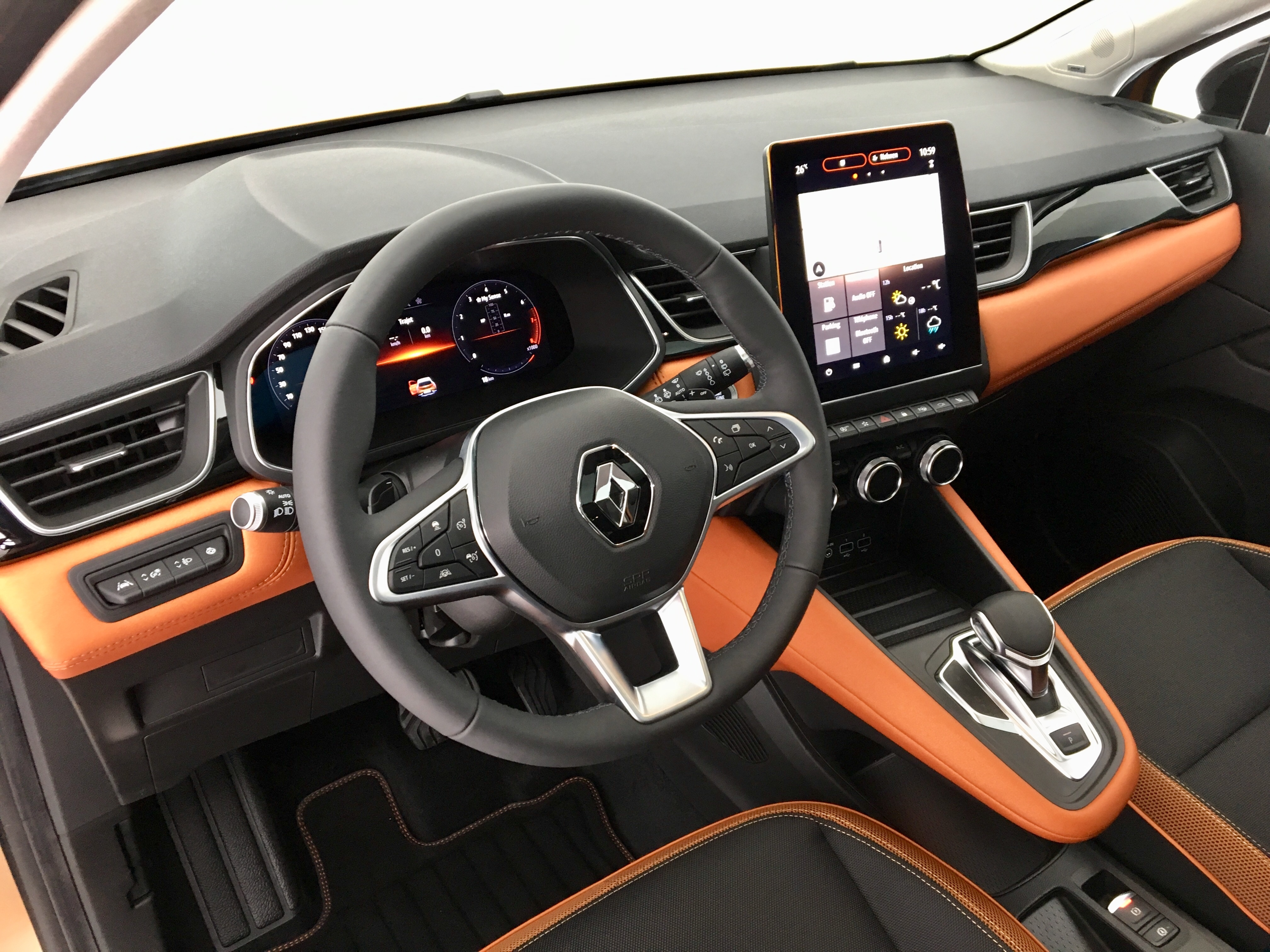 Renault captur 2 2019 plus grand et plus mature pr sentation vid o - Interieur renault captur ...