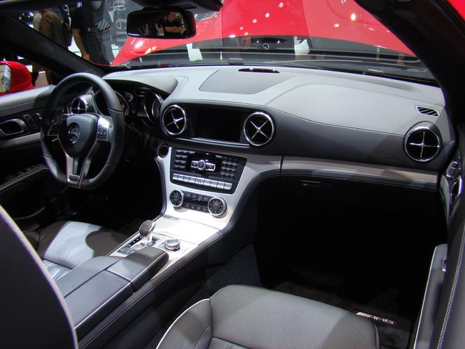 Video en direct du Salon de Genève 2012 : nouveau Mercedes SL, nouveau regard