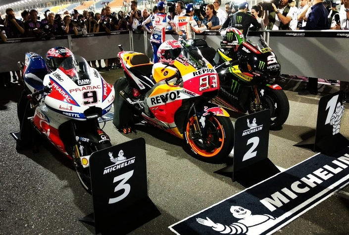 MotoGP - Qatar J.2: Sensationnelle pole de Johann Zarco