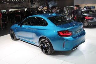 BMW M2 : l'ébouriffante - En direct du salon de Genève 2016