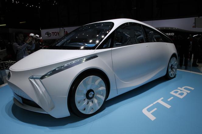 En direct de Genève 2012 : Toyota FT-Bh, frugale et spéciale
