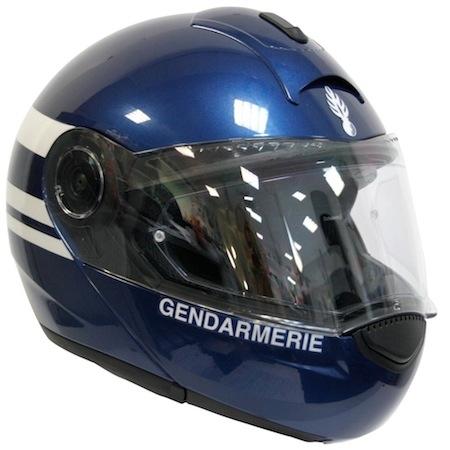 La gendarmerie s'équipe en Schuberth C3.