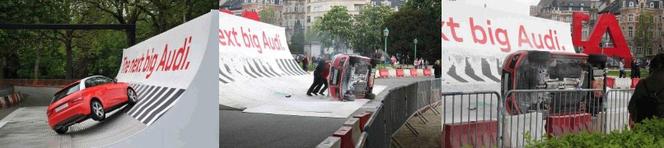 FAIL : Audi A1, the big kink (le gros problème)