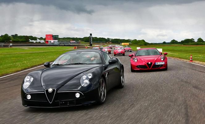 Les Alfa Romeo Experience Days 2014 à la Ferté Gaucher