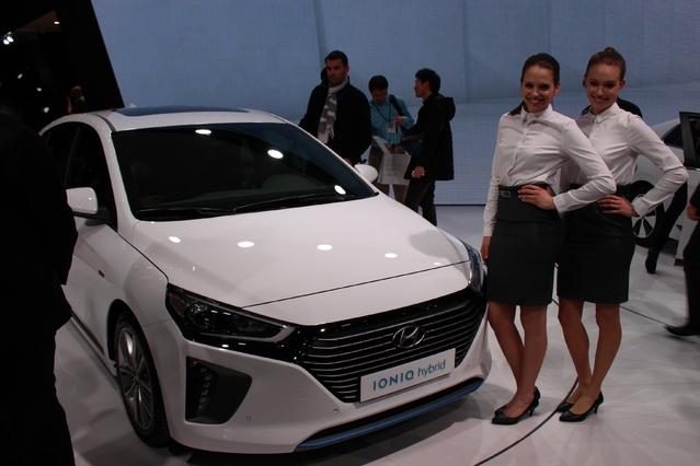 Hyundai Ioniq : 3 parfums - Vidéo en direct du salon de Genève