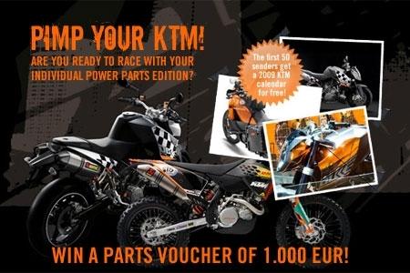Pimp your KTM : Ta Katoch' est-elle unique !?