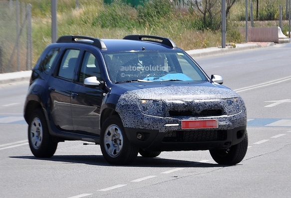 Surprise : le restylage du Dacia Duster