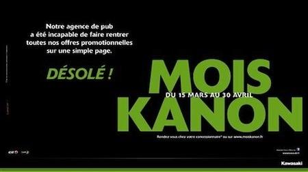 Kawasaki Mois Kanon: c'est le moment de rouler vert
