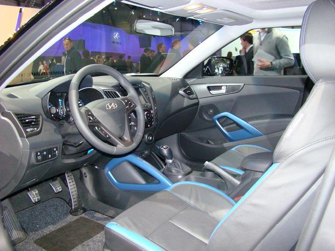 Salon de Genève 2012 : Hyundai Veloster Turbo, enfin un ramage à la hauteur du plumage