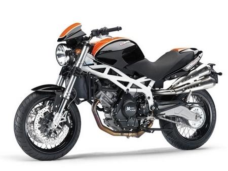 La Moto Morini 1200 sport se refait une couleur...