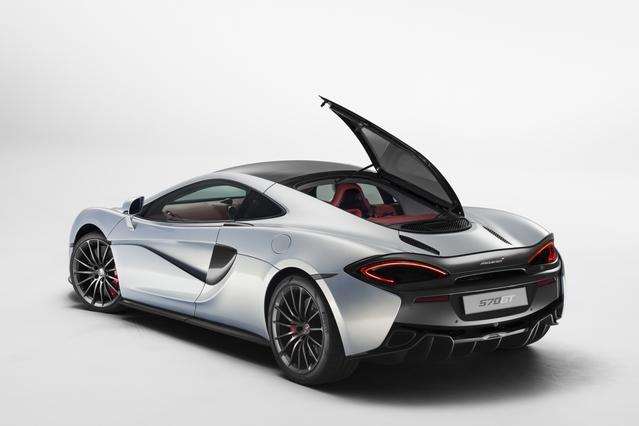 Salon de Genève 2016 - McLaren 570 GT : la McLaren à hayon