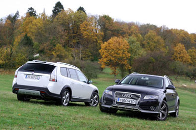 Comparatif : Audi A4 Allroad vs Saab 9-3x : anges et démons