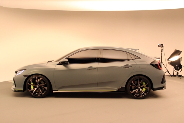 Honda Civic 5 portes concept : la passe à dix – En direct du salon de Genève 2016