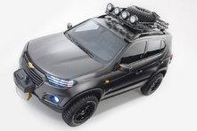 Moscou 2014 : voici le Chevrolet Niva concept en clair