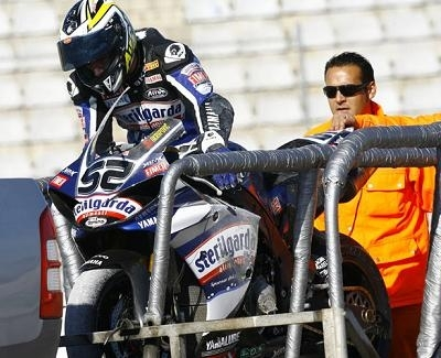Superbike - Test Valence D.1: Haslam pose ses jalons