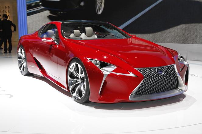 Genève 2012 Live : Lexus LF-LC, un peu de joie dans la grisaille