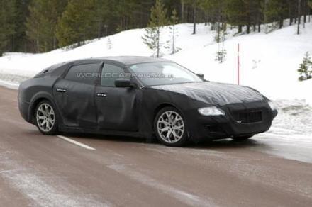 La future Maserati Quattroporte en test