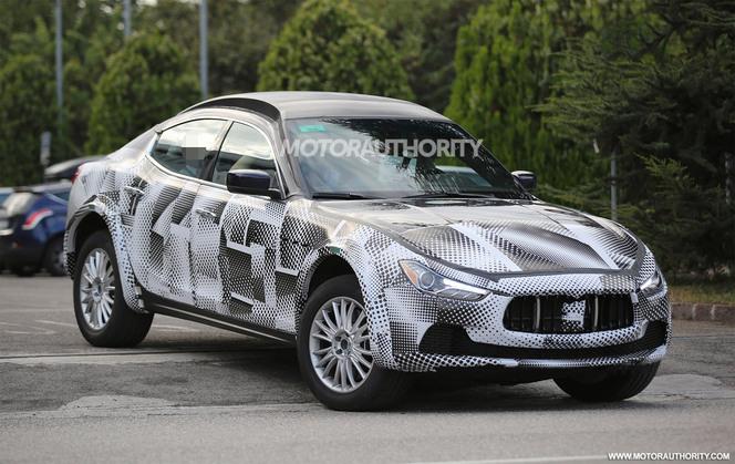 Surprise : le futur SUV Maserati Levante se cache là-dessous