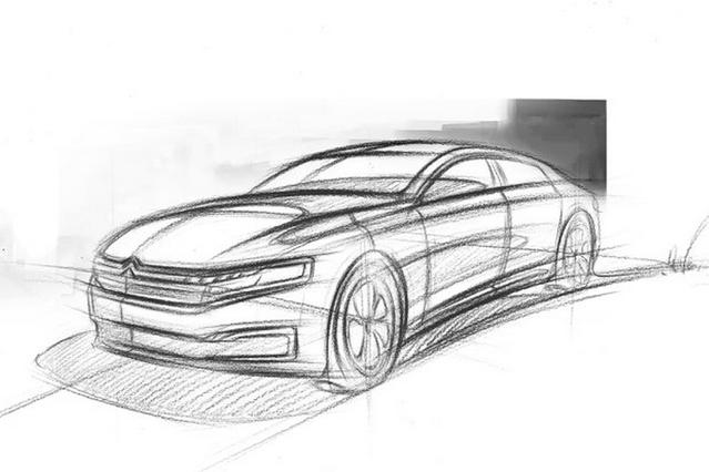 Citroën : la nouvelle C6 se dessine pour la Chine