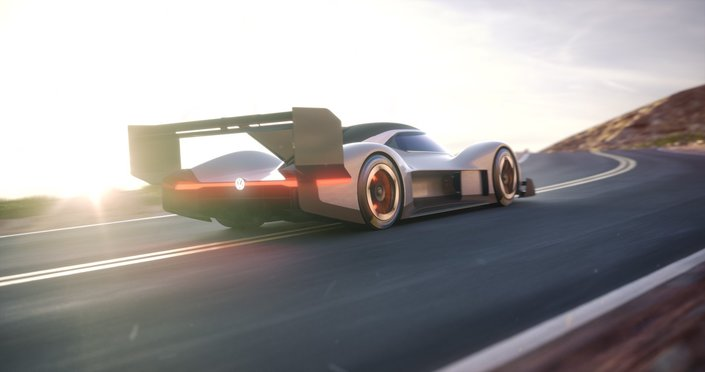 Volkswagen montre son bolide au look radical pour Pikes Peak