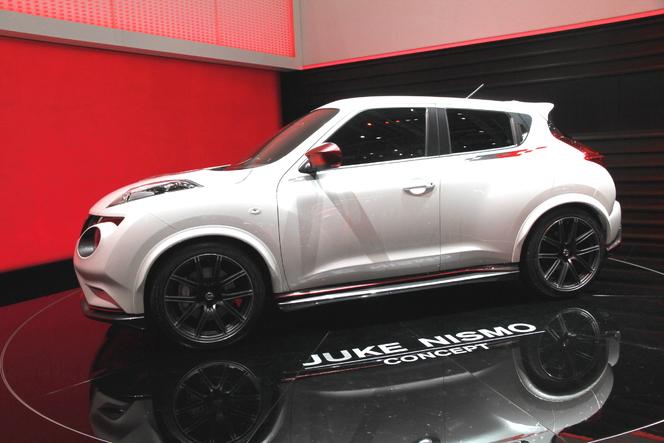 En direct de Genève 2012 : Nissan Juke Nismo concept, tuning officiel