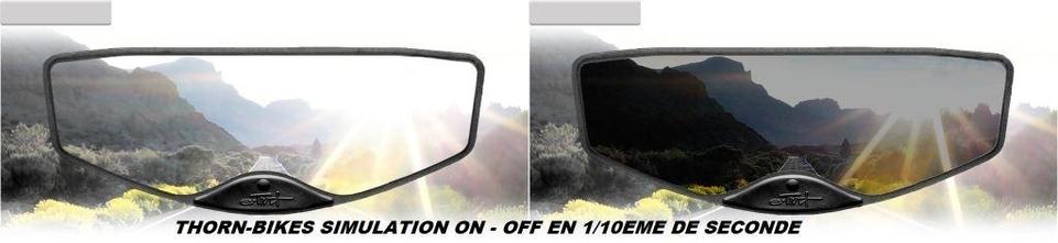 E-Tint AX-11 : un écran LCD sur votre visière