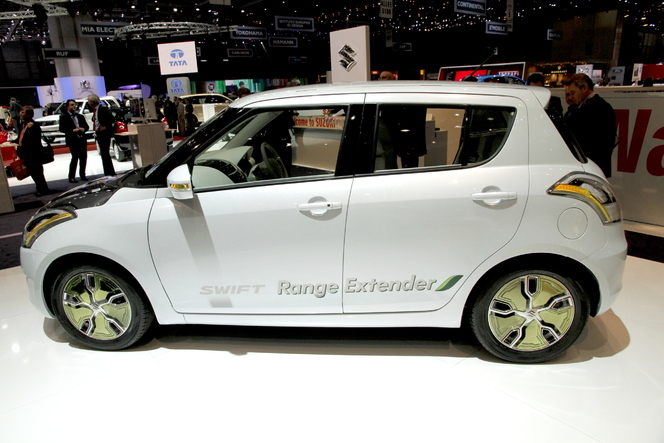 Genève 2012 Live : Suzuki Swift range extender, manque de coffre ?