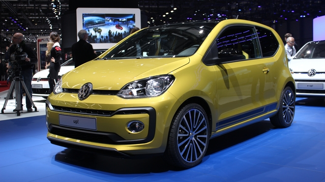 Volkswagen Up! restylée : personnalisable - En direct du salon de Genève 2016