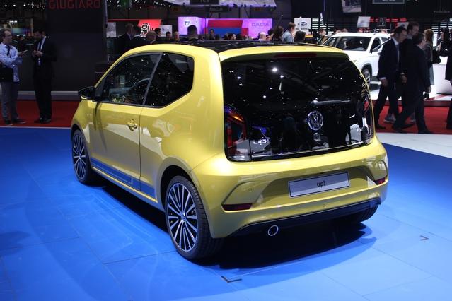 Volkswagen Up! restylée : personnalisable - En direct du salon de Genève 2016