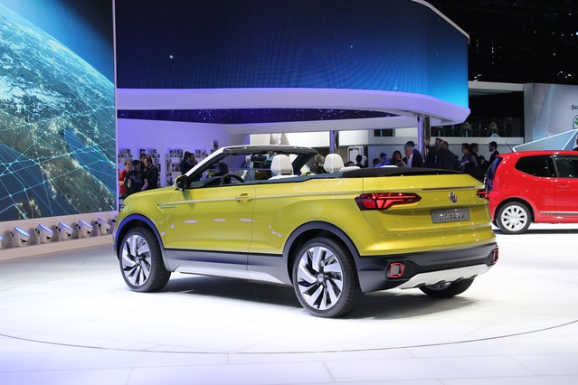 Volkswagen T-Cross Breeze Concept : future Polo SUV cabriolet ? - En direct du salon de Genève