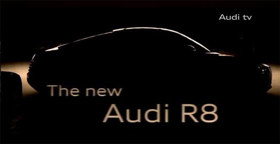 """Audi tease sa """"nouvelle"""" R8"""