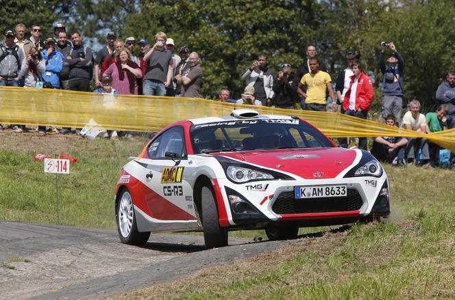 Rallye - Test grandeur nature en Allemagne pour la Toyota GT86 CS-R3