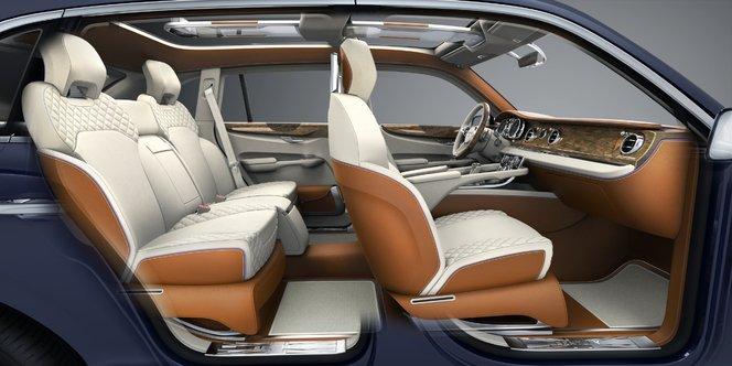 Bentley EXP 9 F: un design déjà remis en cause...