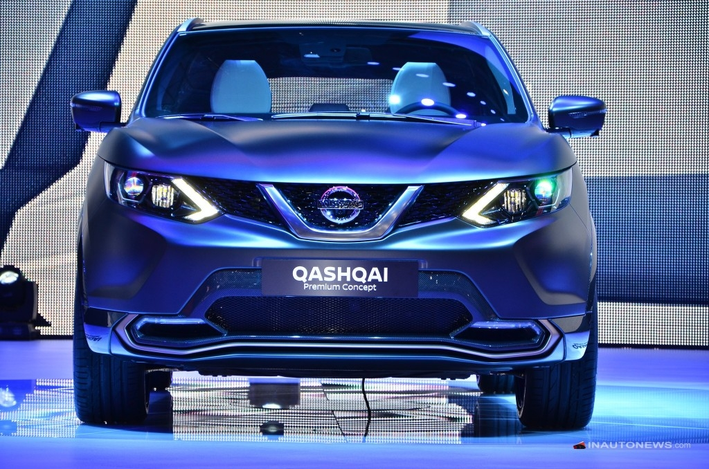 nissan qashqai premium concept semi autonome en direct. Black Bedroom Furniture Sets. Home Design Ideas