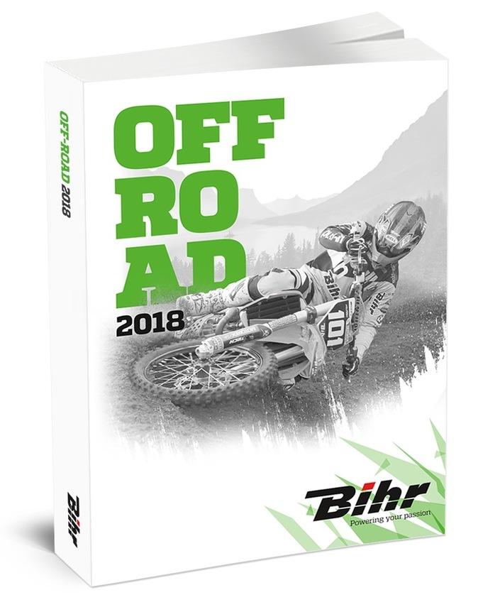 Bihr: le catalogue off-road 2018 est arrivé