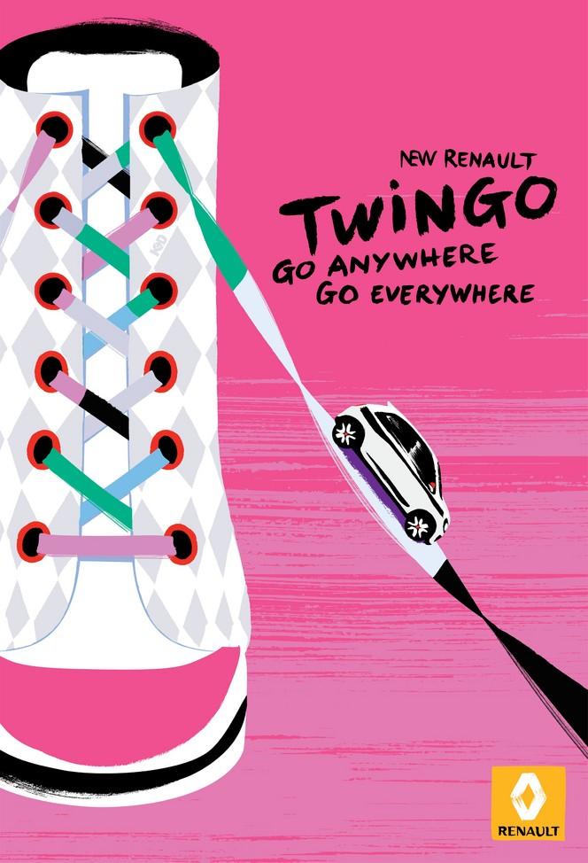 Renault présente la campagne publicitaire pour sa nouvelle Twingo