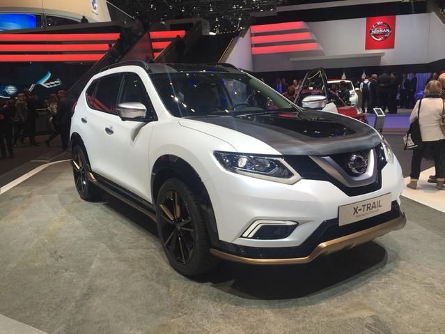 Nissan X-Trail Premium Concept: embourgeoisé - En direct du salon de Genève 2016