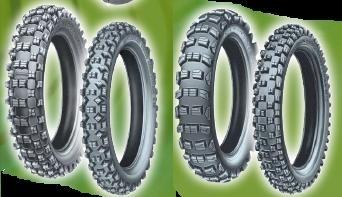 Michelin S12 XC et M12 XC pour les terrains de cross