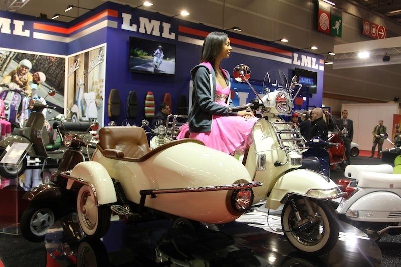 En direct du salon de la Moto 2011 : LML Star Light 50/125 cm3