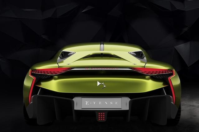 Salon de Genève 2016 - DS E-Tense Concept : coupé GT de plus de 400 ch !