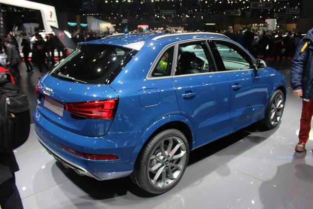 Audi RS Q3 : 367 ch ! - Vidéo en direct du salon de Genève