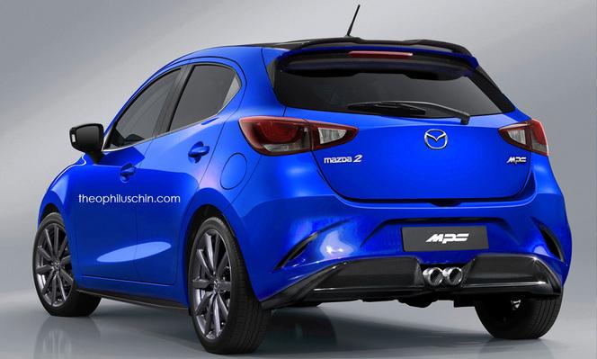 La Mazda 2 MPS imaginée