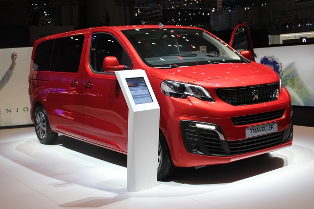 Peugeot Traveller : trois versions - En direct du salon de Genève