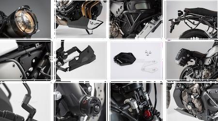 SW-Motech habille la Yamaha XSR 700